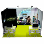Pack stand PANORAMIC 12m2