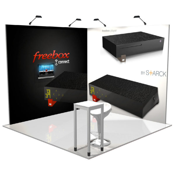 Pack stand PANORAMIC 9m2