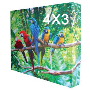 stand tissu 4x3