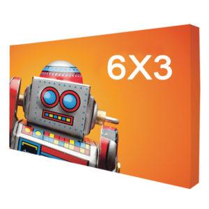 stand tissu 6X3