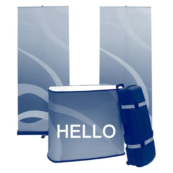 pack stand tissu hello